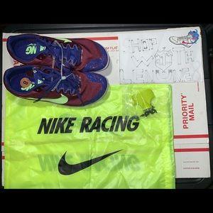Womens Nike Zoom Rival Track Field Spikes sz 8